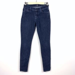 7 For All Mankind Gwenevere Skinny Jeans Stretch